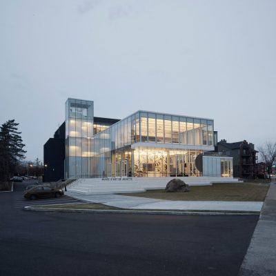 Art Museum in Joliette design by Les architectes FABG