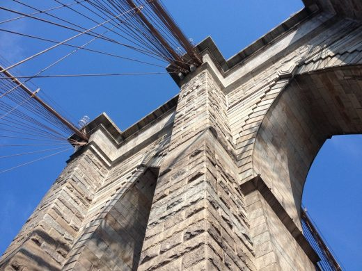 Brooklyn Bridge stonework