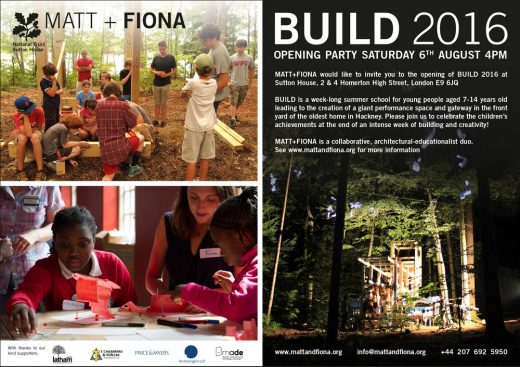 BUILD 2016 Matt + Fiona Event
