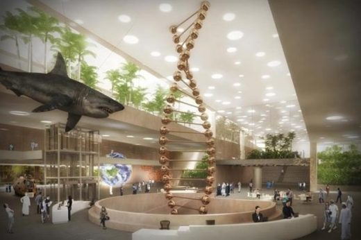 Cairo Science City Competition building design