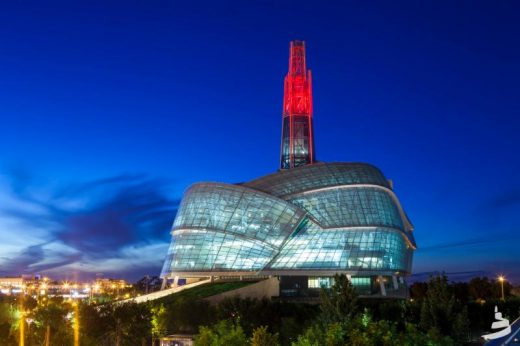 Canadian Museum for Human Rights, Winnipeg by Antoine Predock Architect PC