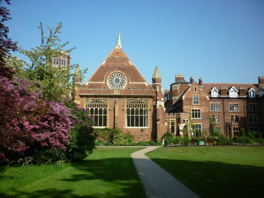 The Cavendish Building Homerton College Cambridge
