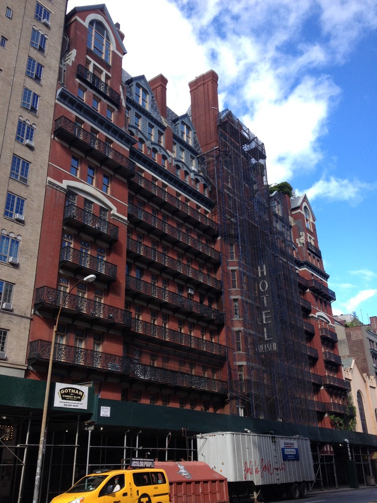 New York Hotel Buildings Manhattan Accommodation E