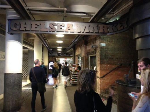 Chelsea Market interior New York