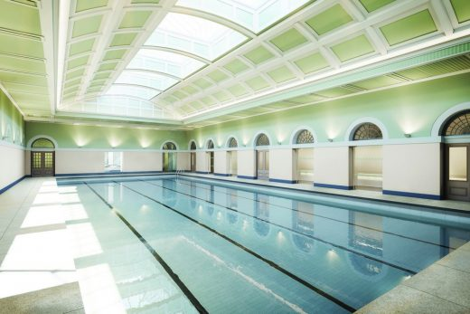 City pool and turkish baths in newcastle e architect for Pool design newcastle