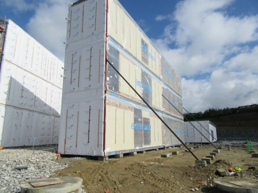 DuPont Tyvek Modular Office Block Development