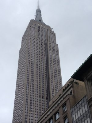 Empire State New York building