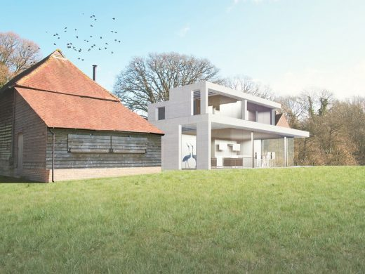 Contemporary Farmhouse in West Sussex