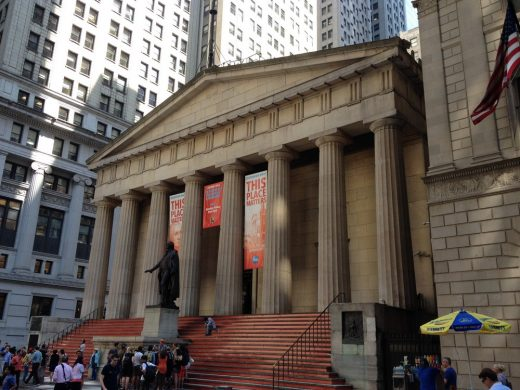 Federal Hall New York Wall Street