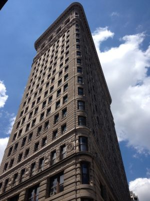 Flat Iron New York building