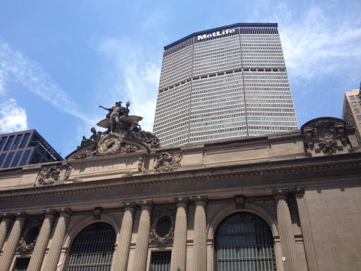 Grand Central New York with Metlife Building