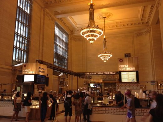 Grand Central New York building hall