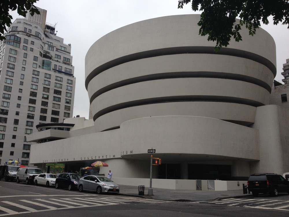 guggenheim new york museum by frank lloyd wright e architect. Black Bedroom Furniture Sets. Home Design Ideas
