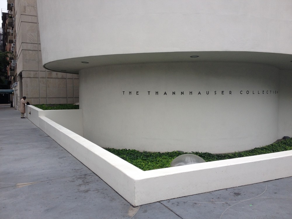 the guggenheim museum in new york by frank lloyd wright The new solomon r guggenheim museum is frank lloyd wright's last public  building and his only one in the city of new york originally commissioned more.