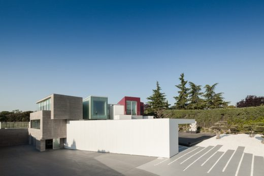Contemporary Residential Development in capital of Spain