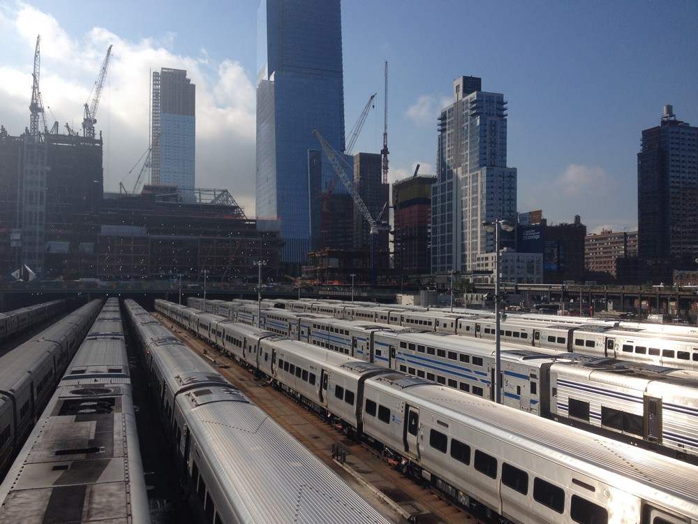 Hudson yards development manhattan e architect for How far is hudson ny from nyc
