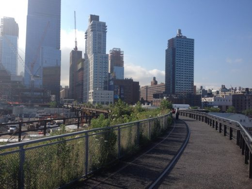 Hudson Yards New York Buildings with High Line
