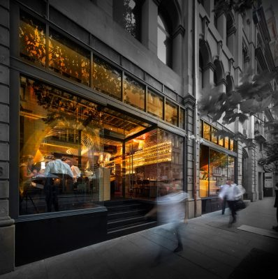 lot 1 caf u00e9  bar and restaurant in sydney e architect