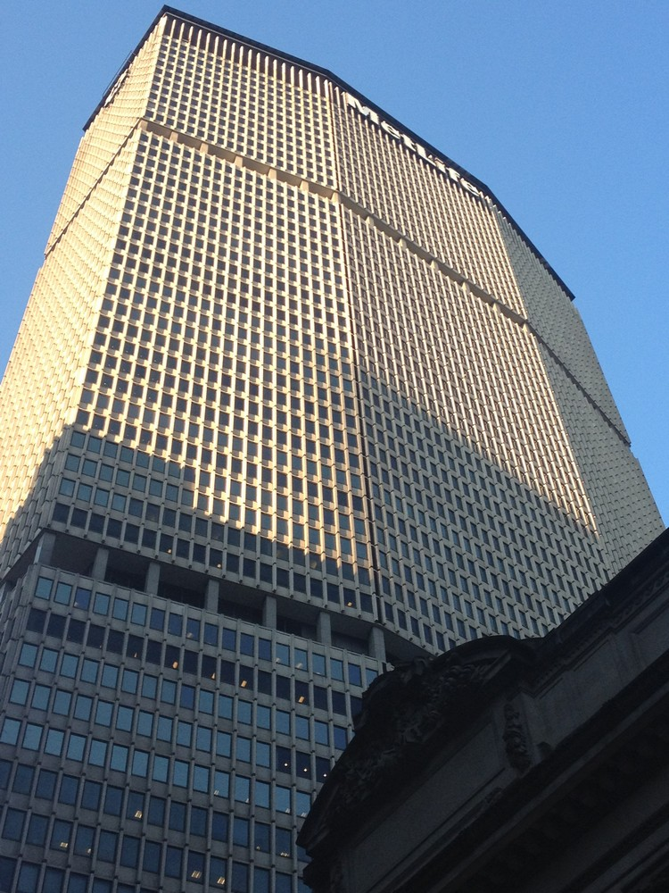 Metlife Building Manhattan Tower New York E Architect