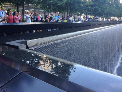 National September 11 Memorial reflecting pool