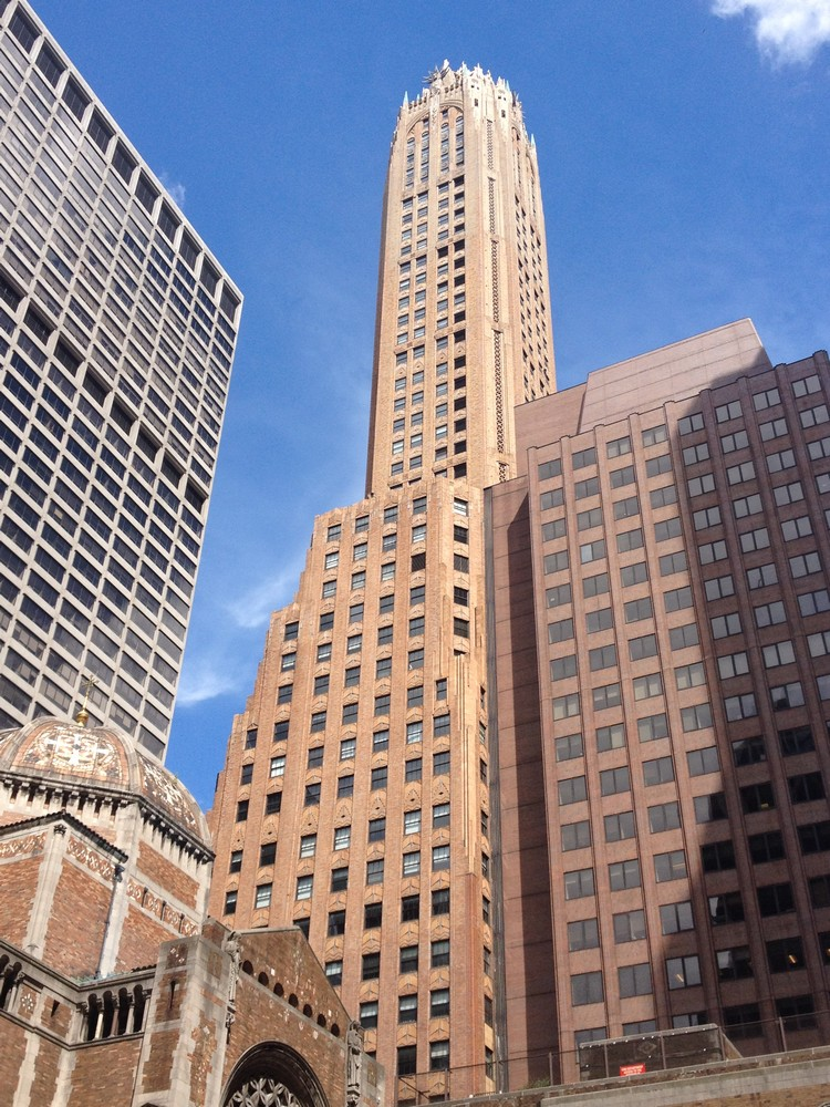 New York Midtown Buildings Manhattan Architecture E