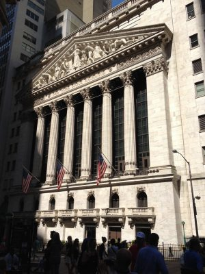 NY Stock Exchange building