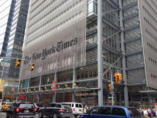 New York Times headquarters building
