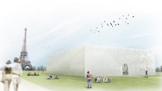 Paris Pavilion competition 2nd prize
