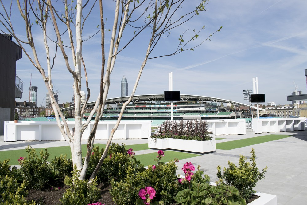 Peter May Stand Kia Oval London Cricket Ground E Architect