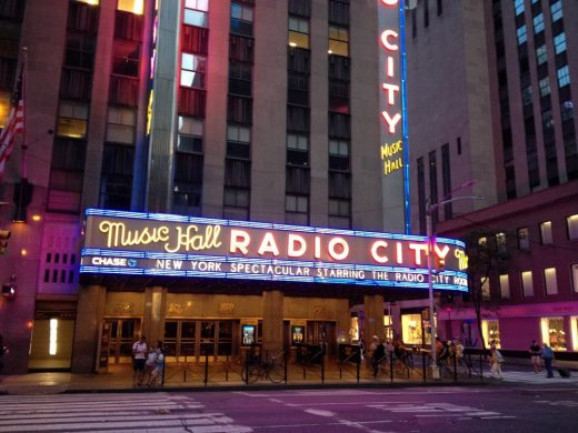 Radio City Music Hall New York building