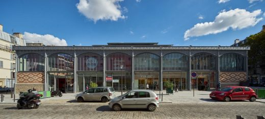 Secretan Covered Market renewal by Architecture Patrick Mauger