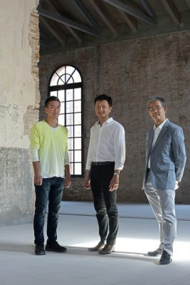 Singapore Pavilion curators at Biennale Architettura 2016