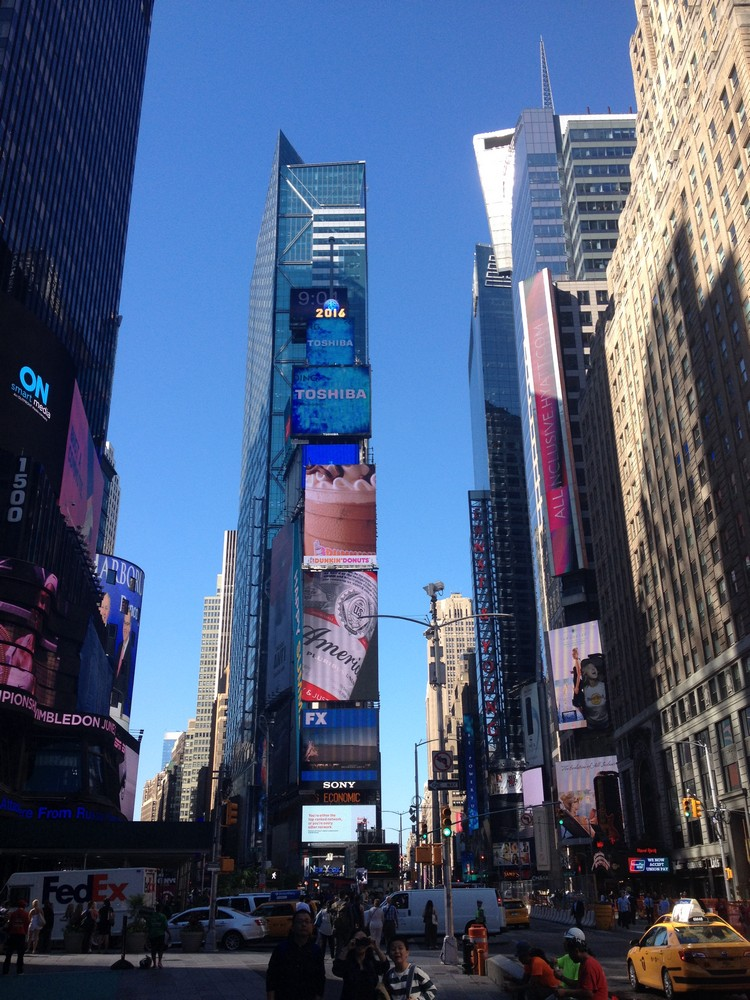 Times Square New York Buildings
