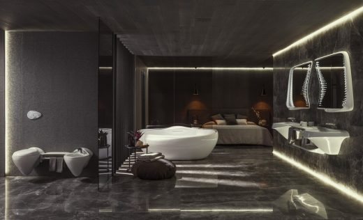 Vitae Collection Porcelanosa Bathrooms by Zaha Hadid Desgin
