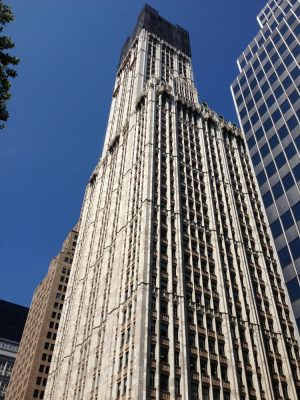 Woolworth Building New York skyscraper