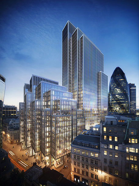 London Skyscrapers Images Architects E Architect