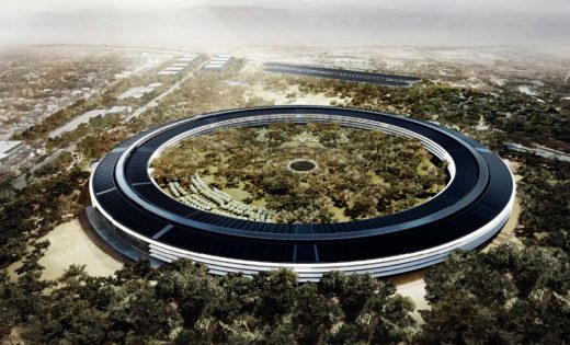 Apple Campus 2 Cupertino Building design