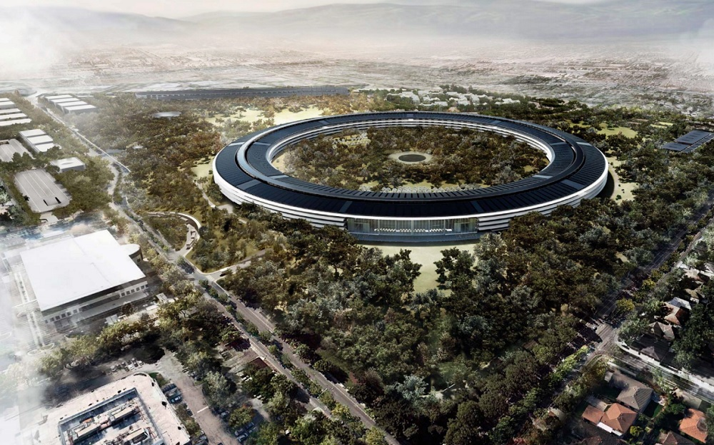 Apple New Building Cupertino Architect