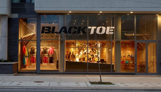 Black Toe Running Shop