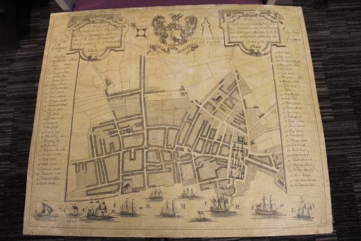Liverpool map by James Chadwick