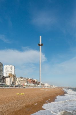 British Airways i360 Pod in Brighton