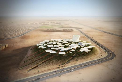 Cairo Science City International Architectural Competition winning design - Egyptian Architecture