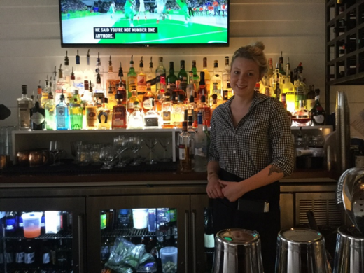 Carolina Inn, Chapel Hill, bartender Whitney Harris