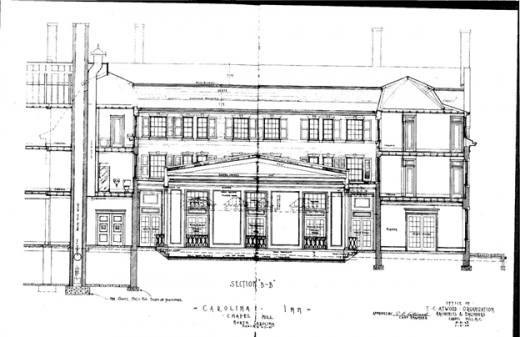Carolina Inn elevation