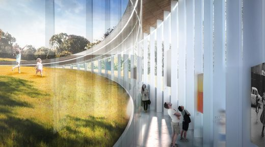 Cedar Hill Loop Pavilion Building design