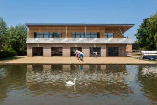 Combined Colleges Boathouse Building