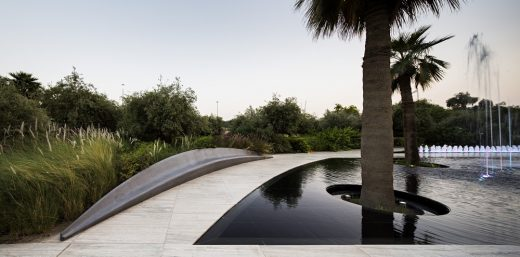 Middle East park design by SdARCH Trivelli&Associati and Alhadeff Architects