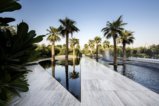 Middle East Landscape design by SdARCH Trivelli&Associati and Alhadeff Architects