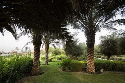 New Middle East public gardens