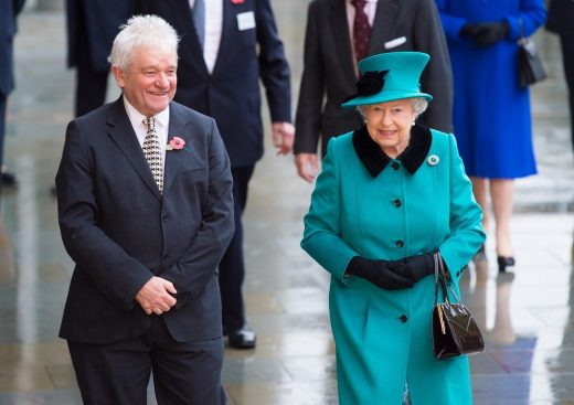 Francis Crick Institute opening - Sir Paul Nurse and The Queen II